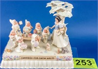 """Disney, """"At the Parade with Snow White"""" by Lenox"""