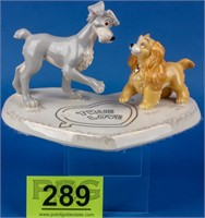 "Disney's, Lady and the Tramp, ""True Love"" by Lenox"