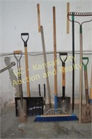 Shovels, Brooms, Weed Eaters, Snow Shovels, etc..