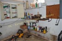 Shop Vac, Handtools, Garage Items, Etc..