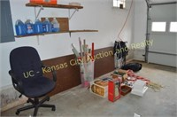 Office Chair, Table, Christmas Items, Washer Fluid