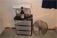 New Ceramic Tile, Coke Bottles, Fan, Roller-Stand