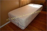 Tempur-Pedic Bed, hospital type with remote