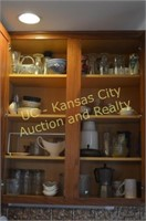 Assorted Glassware, Bowls, Cups, Dishes, etc.