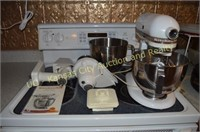 KitchenAid Mixer with Attachments and Manual