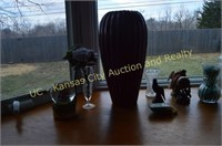 Stained Glass, Jars, Vase & Decorations