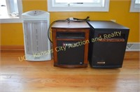 3 electric Space Heaters