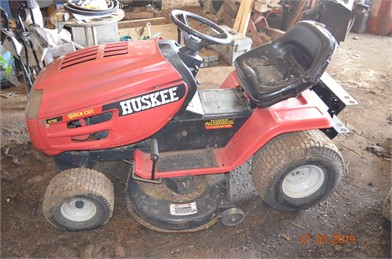 HUSKEE Riding Lawn Mowers Auction Results - 20 Listings