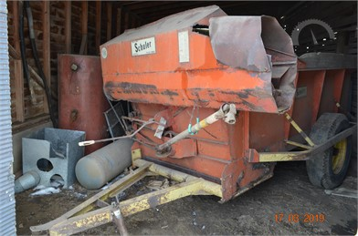 SCHULER Feed/Mixer Wagon Auction Results - 27 Listings | AuctionTime