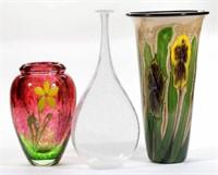 Selection of studio glass