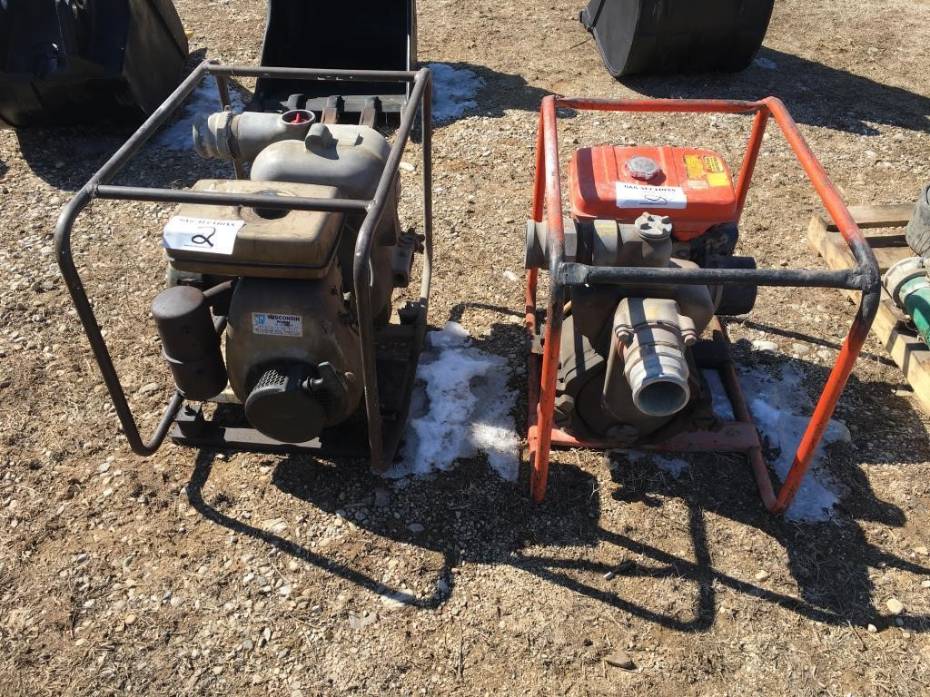 Two Polyquip Water Pumps w/Wisconsin Engines | HiBid Auctions