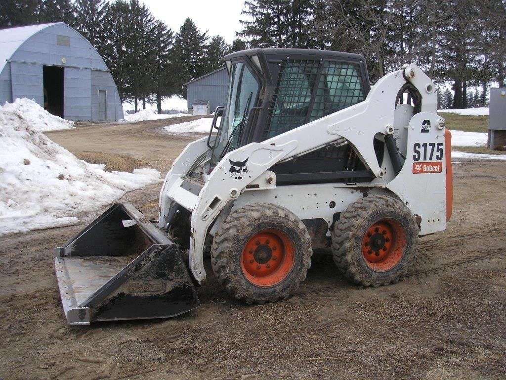 BOBCAT S175 DIESEL SKID STEER | Hager Auction Service