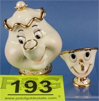 "Disney ""Mrs. Potts and Chip"" Lenox"