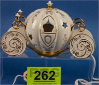 "Disney ""Cinderella's Lighted Coach"" Lenox"