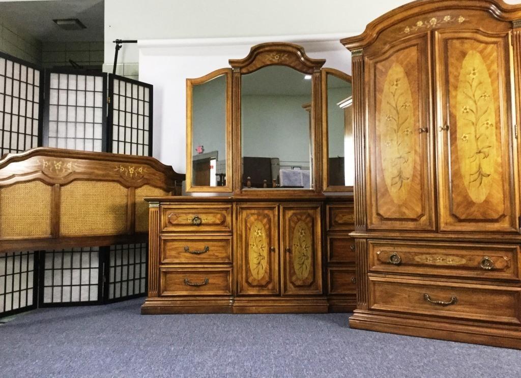 Stanley Furniture 3 Piece Bedroom Set Dangerfield Auctions Llc