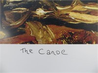 THE CANOE- PRINT BY TOM THOMSON