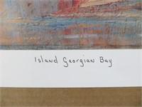 ISLAND GEORGIAN BAY-PRINT BY FRANKLIN CARMICHAEL