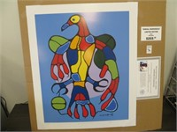 ASTRAL THUNDERBIRD-PRINT BY NOVAL MORRISSEAU