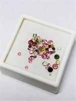 Genuine Multi Color Tourmaline Approx 3ct Gemstone
