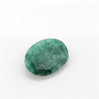 Genuine Emerald (Oval Cut) (18ct)