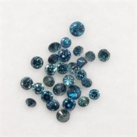 Genuine Assorted Blue Diamond (0.4ct)