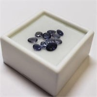 Genuine Iolites, Assorted Ovals, Approx 3.4 cts .