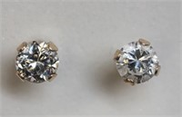 Lot of 12 Sterling Silver Earrings with Cubic