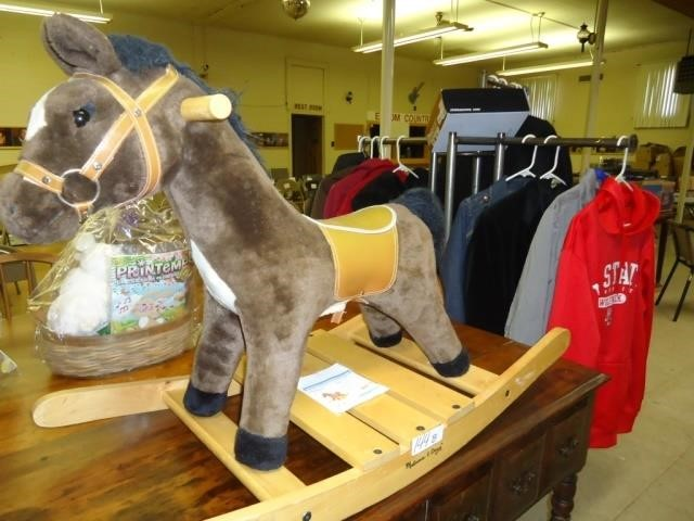 Melissa And Doug Rocking Horse Eaves Auction Company