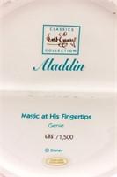 """Disney Aladdin """"Magic At His Fingertips"""" WDCC LE"""