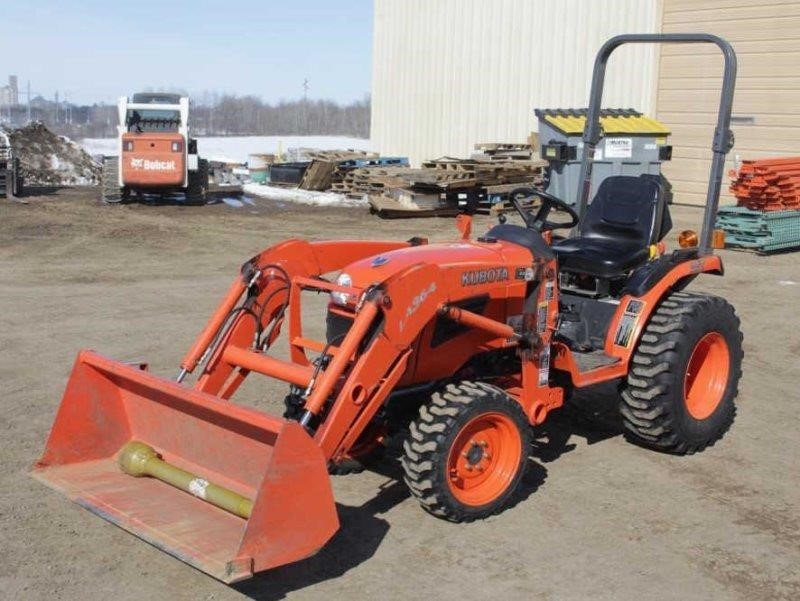 2008 Kubota B2920 sel Utility Tractor   Smith Sales LLC on