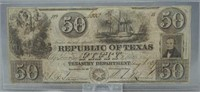 Republic of Texas $50
