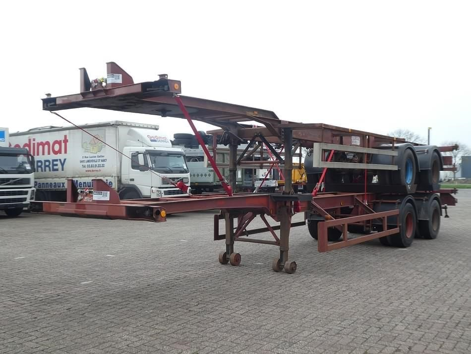 PACTON 40 FT DOUBLE TYRES SPRING SUSPENSION