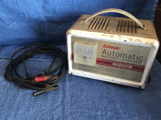 Schauer Automatic Battery Charger 60 Cycles | Triple Seven