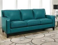Abbyson Laguna Top Grain Leather Sofa