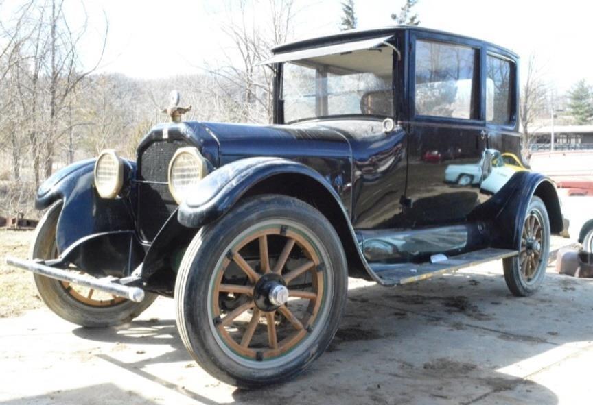 1922 Peerless Model 56 2 Door Opera Coupe