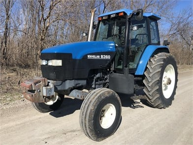 NEW HOLLAND 8360 Auction Results - 34 Listings | MarketBook bz