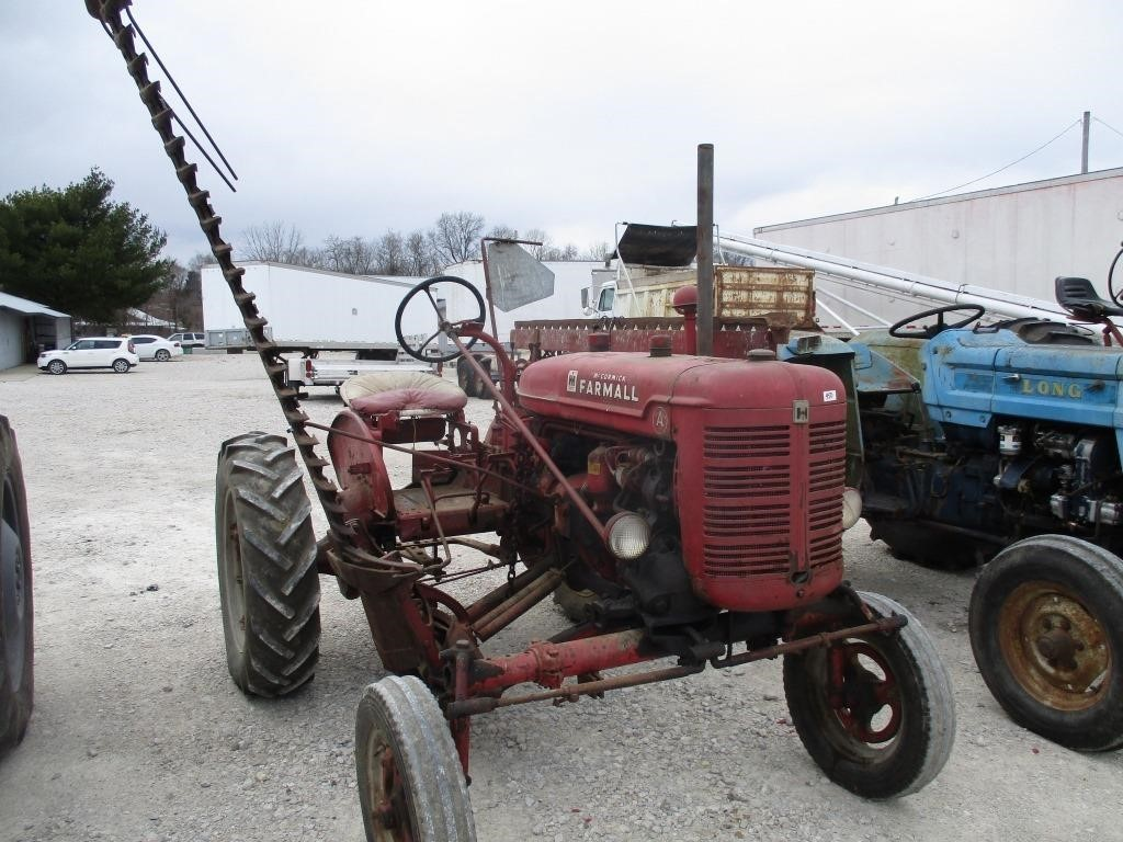 McCormick Farmall Super 4 Mower w/sickle bar | Graber Auctions