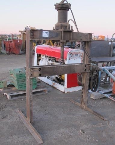 Electric/Hydraulic Shop Press | Western Auction Co