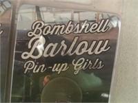 2) Bombshell Barlow Pin-Up Girls Pocket Knives