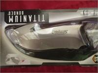 Camillus Titanium Bonded Gut Hook Knife And