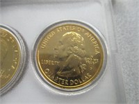 Limited Edition 1999-P/D 24kt Gold Collection