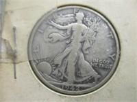 2) 1942 Walking Liberty Half Dollars