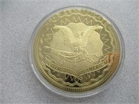 Abraham Lincoln 24kt Gold Layered Commemorative