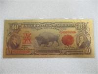 3) 24kt Gold Flake Bills
