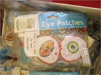 Box Of Kids Party Eye Patches