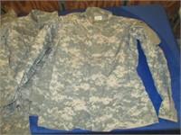 2) Pair Camo Pants And 2) Camo Shirts Size S