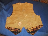 Western Leather Vest