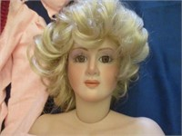 Porcelain Doll 3 Foot Tall
