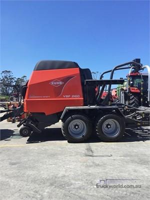 2010 Kuhn VBP2160 Farm Machinery for Sale