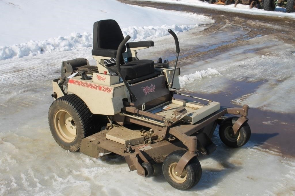 Grasshopper 225v Zero Turn Lawn Mower Spencer Sales
